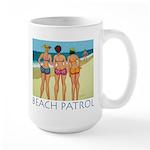 Beach Patrol - Divas Large Mug