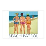 Beach Patrol - Divas Postcards (Package of 8)