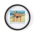 Beach Patrol - Divas Wall Clock