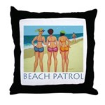 Beach Patrol - Divas Throw Pillow