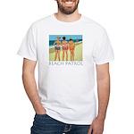 Beach Patrol - Divas White T-Shirt