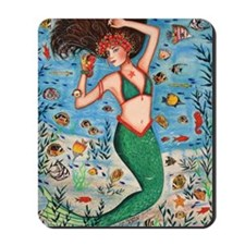 Sea Goddess Mousepad