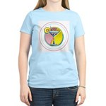 Martini Women's Pink T-Shirt
