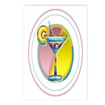 Martini Postcards (Package of 8)