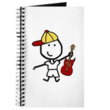 Boy & Electric Guitar Journal