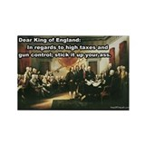 Declaration of Independence Rectangle Magnet (10 p