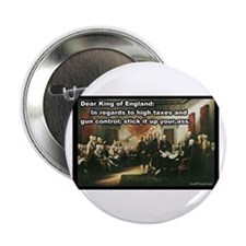 """Declaration of Independence 2.25"""" Button"""