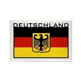 Deutschland Flag Rectangle Magnet
