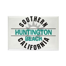 Huntington Beach California Rectangle Magnet (10 p