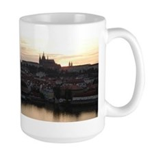 Prague Castle at Sunset Mug