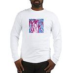 Magenta Boogie Long Sleeve T-Shirt
