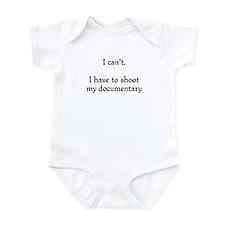 I can't...documentary Infant Bodysuit