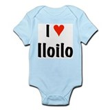I love Iloilo Infant Bodysuit
