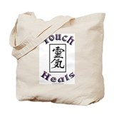 Touch Heals Tote Bag