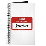Doctor Name Tag Journal