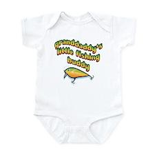 GRANDDADDY'S LITTLE FISHING BUDDY Infant Bodysuit