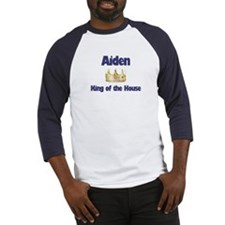 Aiden - King of the House Baseball Jersey