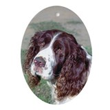 Spaniel Oval Ornament