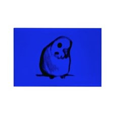 Blue Parakeet Rectangle Magnet (10 pack)