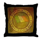 1983 Republic of Newfoundland Throw Pillow