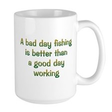 Bad Day Fishing Mug