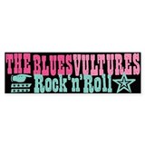 Blues Vultures Single Bumper Bumper Sticker