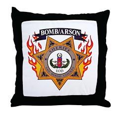 San Diego SD EOD Throw Pillow