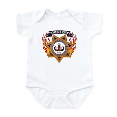 San Diego SD EOD Infant Bodysuit