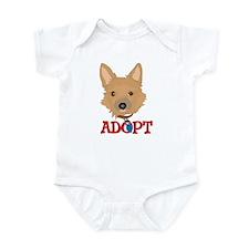 Adopt a dog 4 Infant Bodysuit