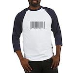 Chiropractor Barcode Baseball Jersey