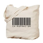 Chiropractor Barcode Tote Bag