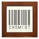 Chemist Barcode Framed Tile