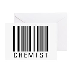 Chemist Barcode Greeting Cards (Pk of 20)