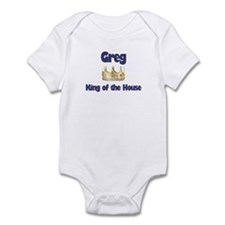 Greg - King of the House Infant Bodysuit