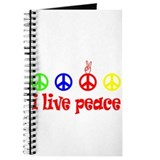 """i Live Peace"" Journal"