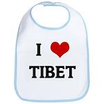 I Love TIBET Bib