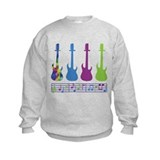 Guitar Music Sweatshirt