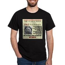 born in 1961 birthday gift T-Shirt