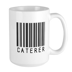 Caterer Barcode Large Mug