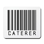 Caterer Barcode Mousepad