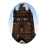 Charles Bridge -Prague, Czech Oval Ornament