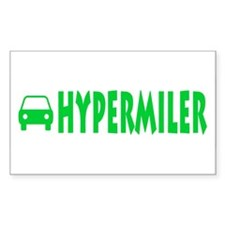 Hypermiler Rectangle Sticker 50 pk)
