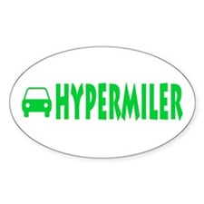 Hypermiler Oval Sticker (50 pk)