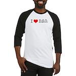 I Love D.S.O. Baseball Jersey