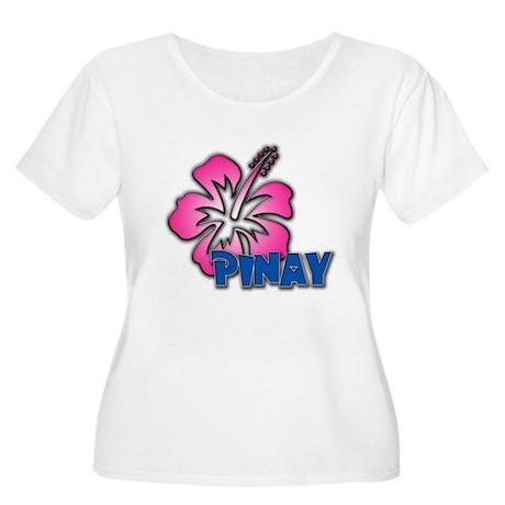 Pinay Women's Plus Size Scoop Neck T-Shirt