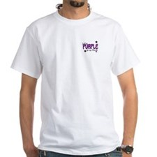 I Wear Purple For My Mom 14 Shirt