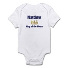 Matthew - King of the House Infant Bodysuit