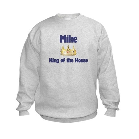 Mike - King of the House Kids Sweatshirt