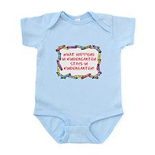 Kindergarten Crayon's Infant Bodysuit