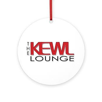 KEWL Lounge Ornament (Round)